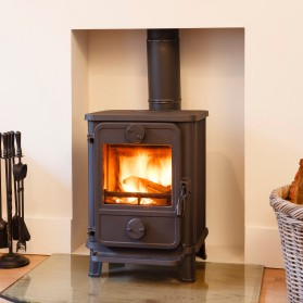 wood and pellet stove installation